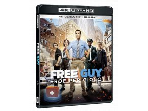 Free Guy (4k Ultra HD Blu-ray + Blu-ray)