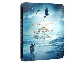 Sirotčinec slečny Peregrinové Blu-ray 3D, Steelbook)