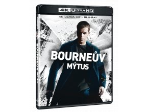 Bourneův mýtus (4k Ultra HD Blu-ray)