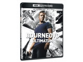 Bourneovo ultimátum (4k Ultra HD Blu-ray)