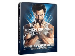 X-Men Origins: Wolverine (Blu-ray, Steelbook s lentikulární kartou)