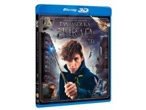 Fantastická zvířat a kde je najít (Blu-ray 3D)