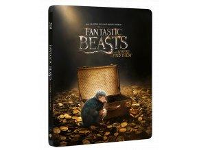 Fantastická zvířat a kde je najít (Steelbook, Blu-ray 3D)