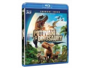 Putování s dinosaury (Blu-ray 3D + Blu-ray 2D)