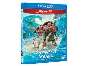 Odvážná Vaiana: Legenda o konci světa (Blu-ray 3D + 2D)