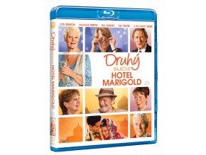 Druhý báječný hotel Marigold (Blu-ray)