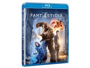 Fantastická čtyřka 2015 (Blu-ray)