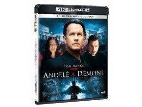 Andělé a démoni (4k Ultra HD Blu-ray + Blu-ray)