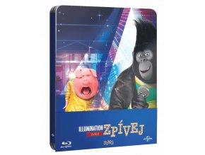 Zpívej (Blu-ray, Steelbook)