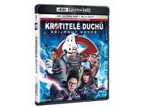 Krotitelé duchů 2016 (4k Ultra HD Blu-ray + Blu-ray)