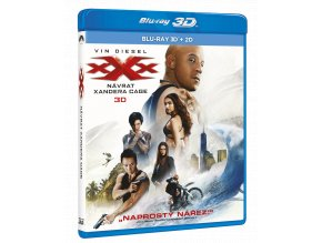 xXx: Návrat Xandera Cage (Blu-ray 3D + 2D)