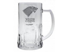 Půllitr Game of Thrones (Hra o trůny) - Stark