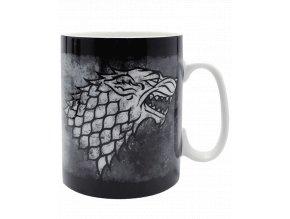 Hrnek Game of Thrones (Hra o trůny) - Stark (strana A)