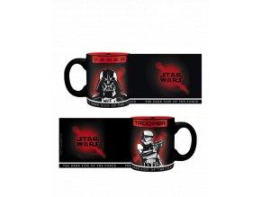Sada Star Wars hrnečků - Vader a Trooper