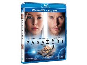 Pasažéři (Blu-ray 3D + Blu-ray 2D)