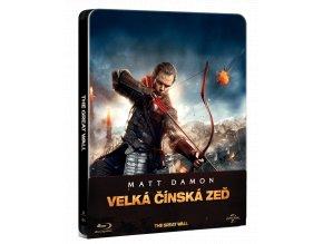 Velká čínská zeď (Blu-ray, Steelbook)