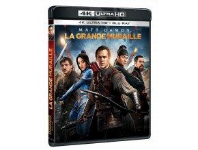 Velká čínská zeď (4k Ultra HD Blu-ray + Blu-ray, CZ pouze na UHD)