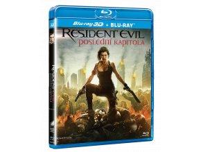 Resident Evil: Poslední kapitola (Blu-ray 3D + Blu-ray)