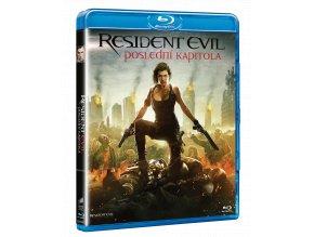 Resident Evil: Poslední kapitola (Blu-ray)
