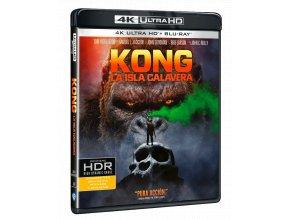 Kong: Ostrov lebek (4k Ultra HD Blu-ray + Blu-ray)