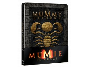 Mumie se vrací (Blu-ray, Steelbook)