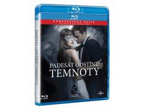 Padesát odstínů temnoty (Blu-ray + DVD, původní i prodloužená verze)
