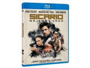 Sicario: Nájemný vrah (Blu-ray)