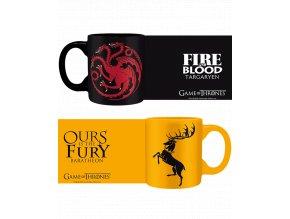 Hrnečky Game of Thrones (Hra o trůny) - Targaryen, Baratheon