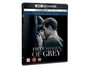 Padesát odstínů šedi (4k Ultra HD Blu-ray + Blu-ray, CZ pouze na UHD) - Rozšířená i původní verze