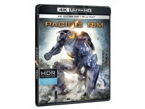 Pacific Rim: Útok na Zemi (4k Ultra HD Blu-ray + Blu-ray)