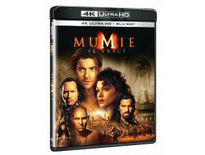 Mumie se vrací (4k Ultra HD Blu-ray + Blu-ray)