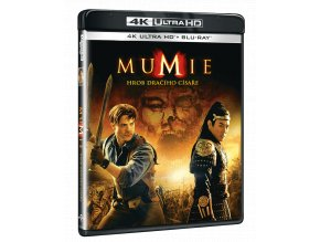 Mumie: Hrob dračího císaře (4k Ultra HD Blu-ray + Blu-ray)
