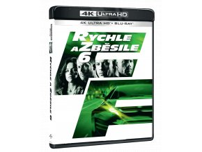 Rychle a zběsile 6 (4k Ultra HD Blu-ray + Blu-ray)