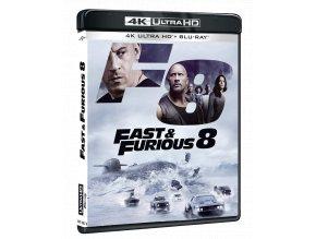 Rychle a zběsile 8 (4k Ultra HD Blu-ray + Blu-ray)