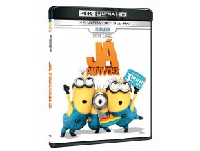 Já, padouch 2 (4k Ultra HD Blu-ray + Blu-ray)