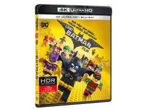Lego Batman Film (4k Ultra HD Blu-ray + Blu-ray)