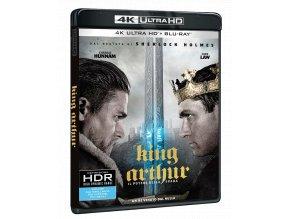 Král Artuš: Legenda o meči (4k Ultra HD Blu-ray + Blu-ray)