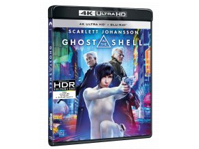 Ghost in the Shell (4k Ultra HD Blu-ray + Blu-ray)