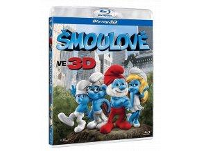 Šmoulové (Blu-ray 3D)