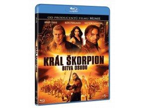 Král Škorpion: Bitva osudu (Blu-ray)