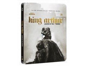 Král Artuš: Legenda o meči (Steelbook, Blu-ray 3D + Blu-ray 2D)