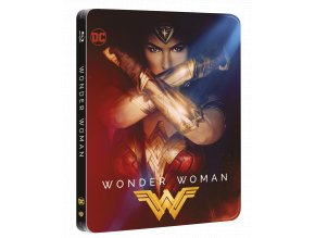 Wonder Woman (Blu-ray + Blu-ray 3D, steelbook)