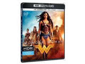 Wonder Woman (4k Ultra HD Blu-ray + Blu-ray)