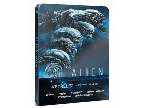 Kolekce Vetřelec 1-6 (6x Blu-ray, Steelbook)