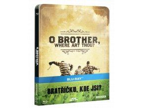 Bratříčku, kde jsi? (Blu-ray, Steelbook)