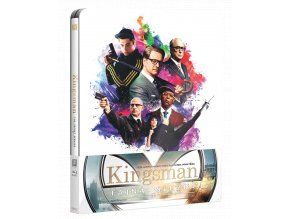 Kingsman: Tajná služba (Blu-ray, Steelbook)