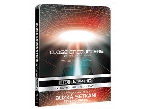 Blízká setkání třetího druhu (4k Ultra HD Blu-ray + Blu-ray, Steelbook)