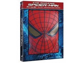 amazing spider man blu ray mask edition