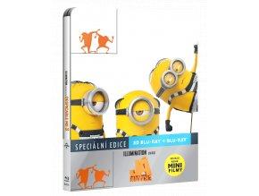 Já, padouch 3 (Blu-ray 3D + Blu-ray 2D, Steelbook)