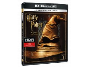 Harry Potter a Kámen mudrců (4k Ultra HD Blu-ray + Blu-ray)